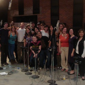 Jesse and Joy, choir overdubs!