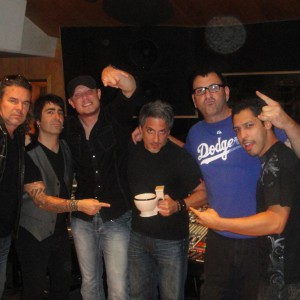 Mana at Ocean Studios, w Mike Fasano, drum God